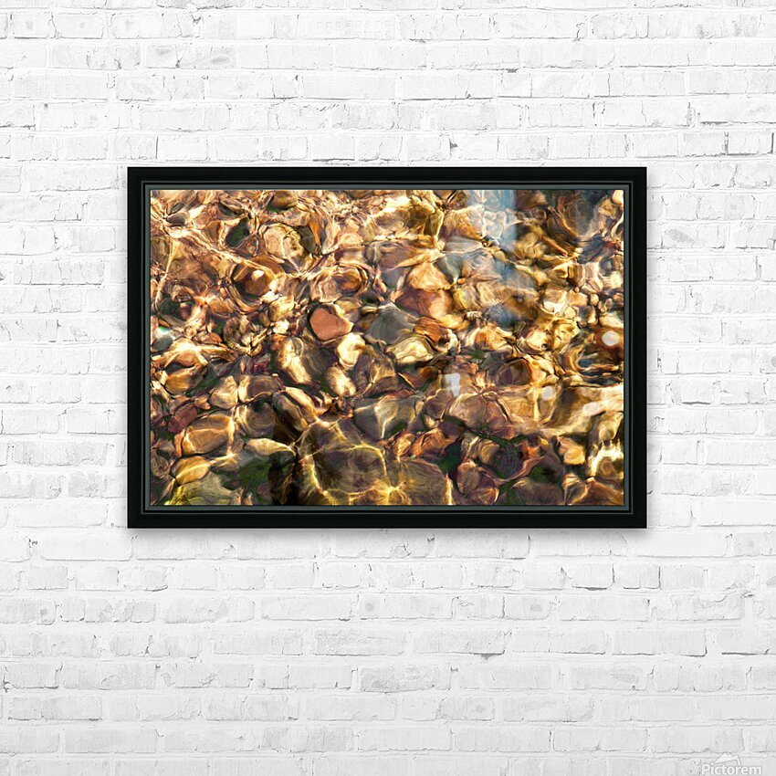 Reflex - X HD Sublimation Metal print with Decorating Float Frame (BOX)