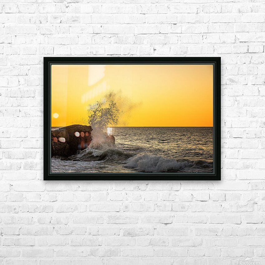 Dancing Devil HD Sublimation Metal print with Decorating Float Frame (BOX)
