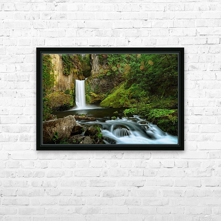 Native Flow HD Sublimation Metal print with Decorating Float Frame (BOX)
