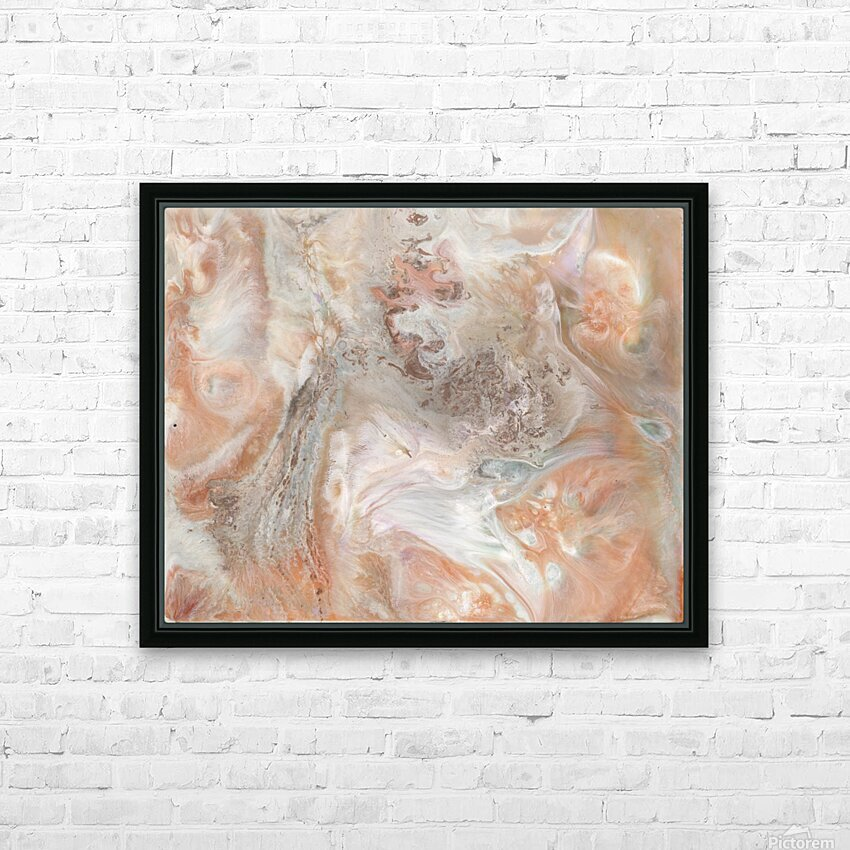 Jupiter HD Sublimation Metal print with Decorating Float Frame (BOX)