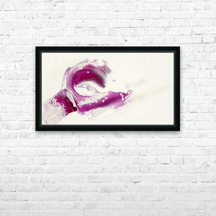 Magenta Sunrise HD Sublimation Metal print with Decorating Float Frame (BOX)
