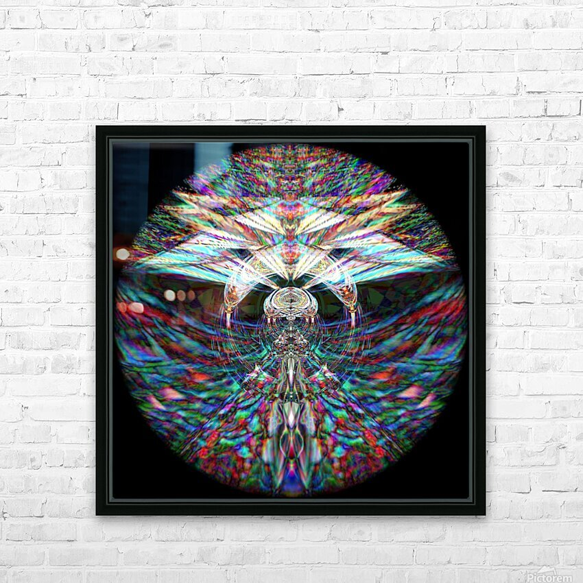 Different Dimensions  HD Sublimation Metal print with Decorating Float Frame (BOX)