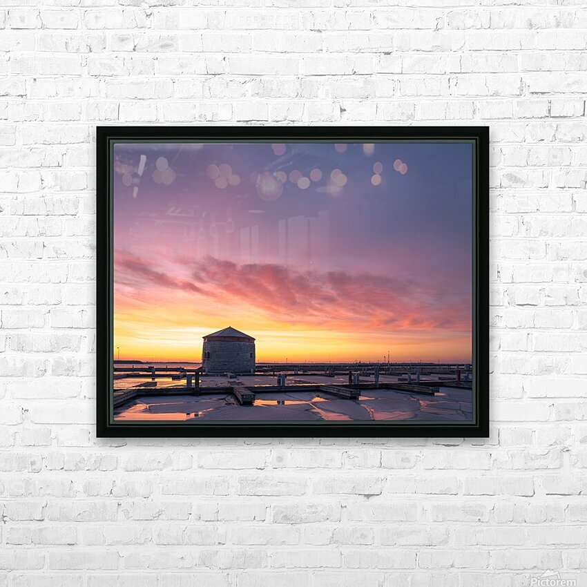 Martello HD Sublimation Metal print with Decorating Float Frame (BOX)