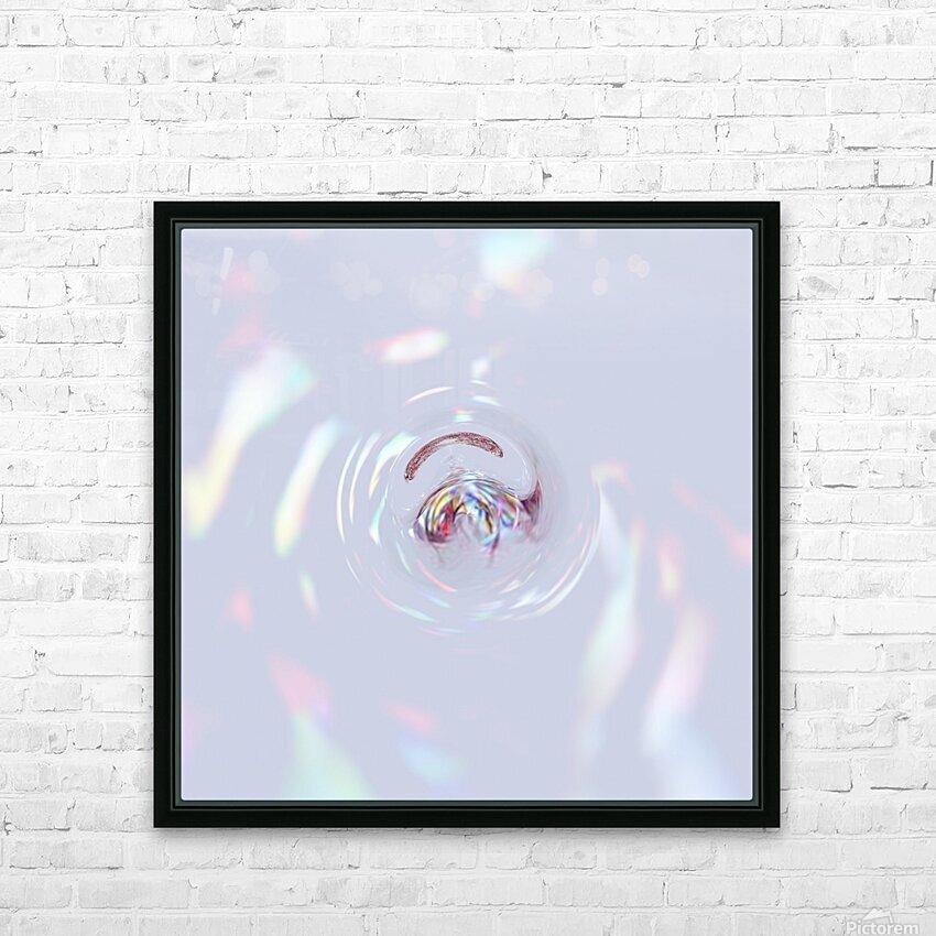 Clear Mind HD Sublimation Metal print with Decorating Float Frame (BOX)