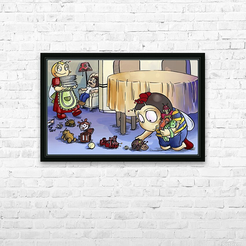 Toy Parade - Bugville Critters HD Sublimation Metal print with Decorating Float Frame (BOX)