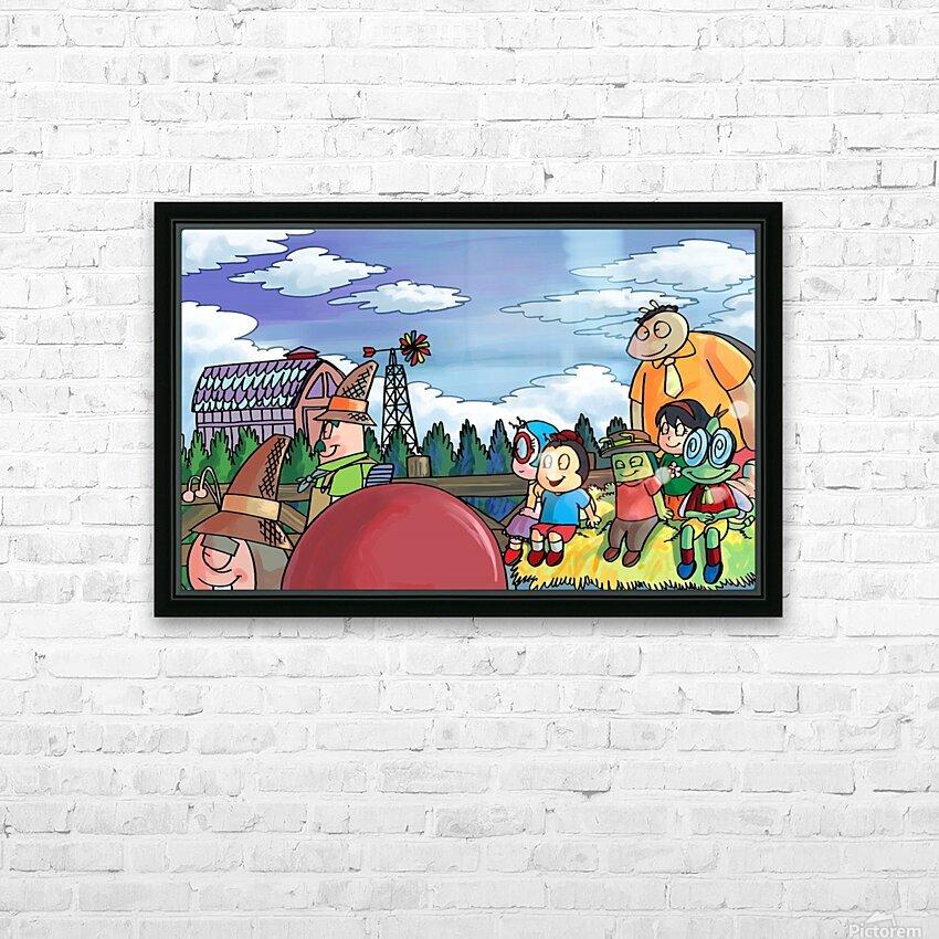 Harvest Festival HD Sublimation Metal print with Decorating Float Frame (BOX)