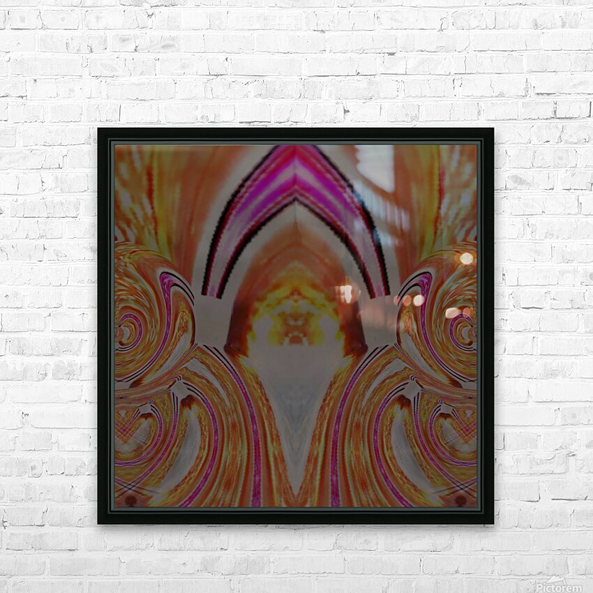 Passion HD Sublimation Metal print with Decorating Float Frame (BOX)