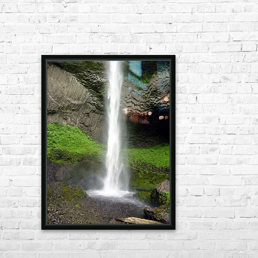Spray HD Sublimation Metal print with Decorating Float Frame (BOX)