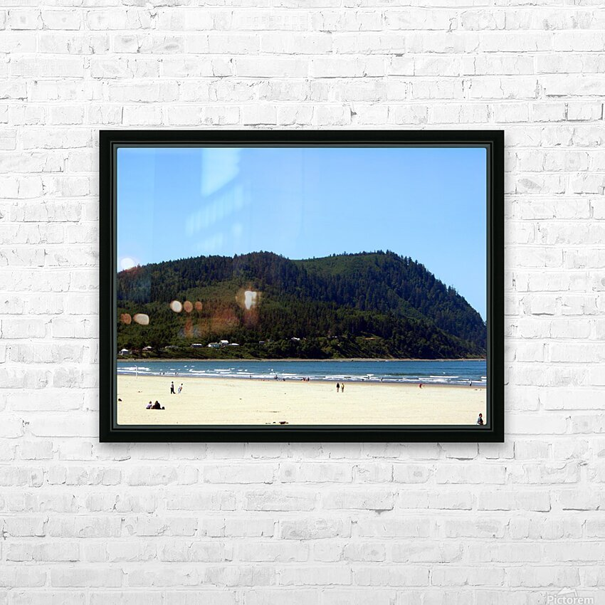Oregon Coast   Snapshot in Time HD Sublimation Metal print with Decorating Float Frame (BOX)
