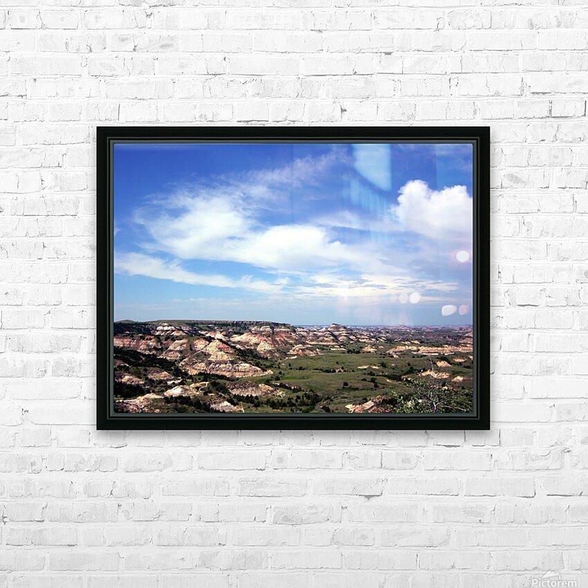 Badlands 2 HD Sublimation Metal print with Decorating Float Frame (BOX)