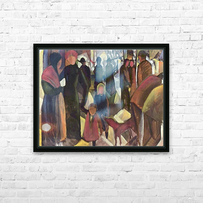 Resignation by Macke HD Sublimation Metal print with Decorating Float Frame (BOX)