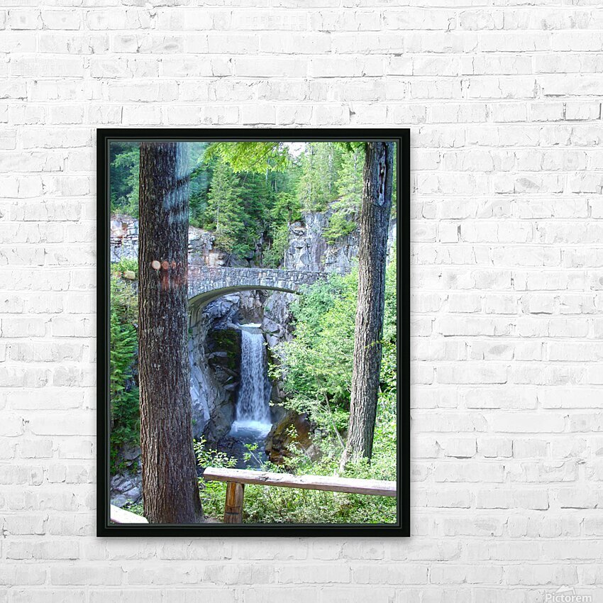 Christine Falls at Mount Rainier Pacific Northwest HD Sublimation Metal print with Decorating Float Frame (BOX)