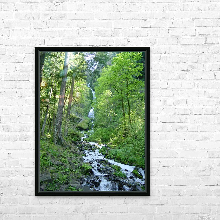 Forest Dreams HD Sublimation Metal print with Decorating Float Frame (BOX)