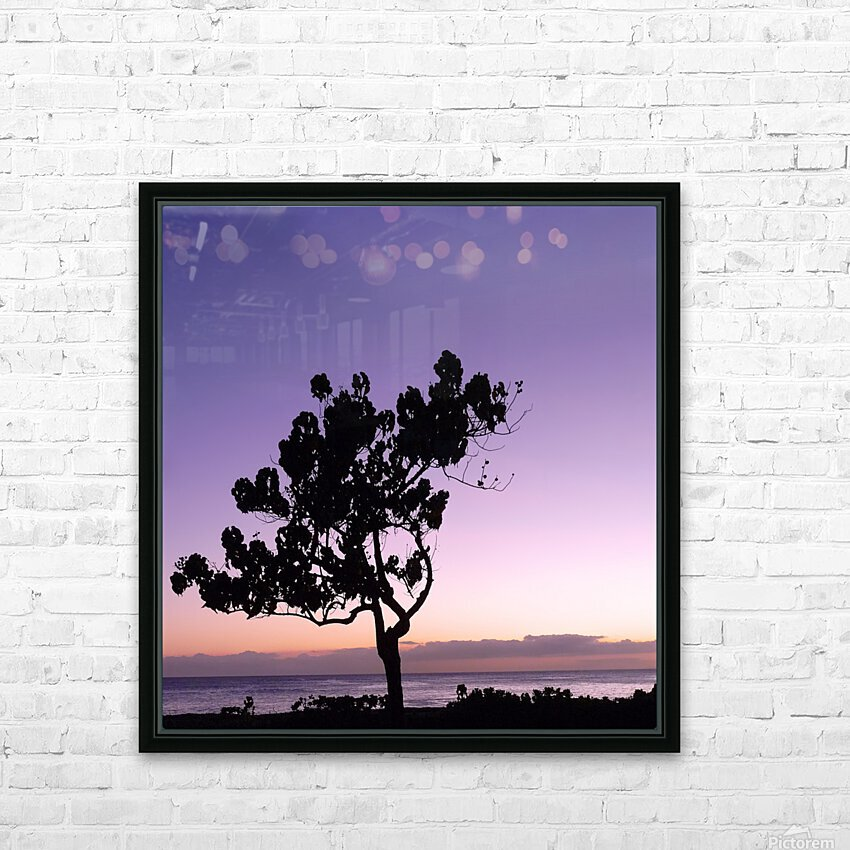 Silhouette HD Sublimation Metal print with Decorating Float Frame (BOX)