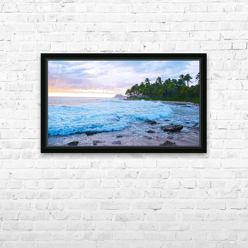 Untamed Hawaii HD Sublimation Metal print with Decorating Float Frame (BOX)