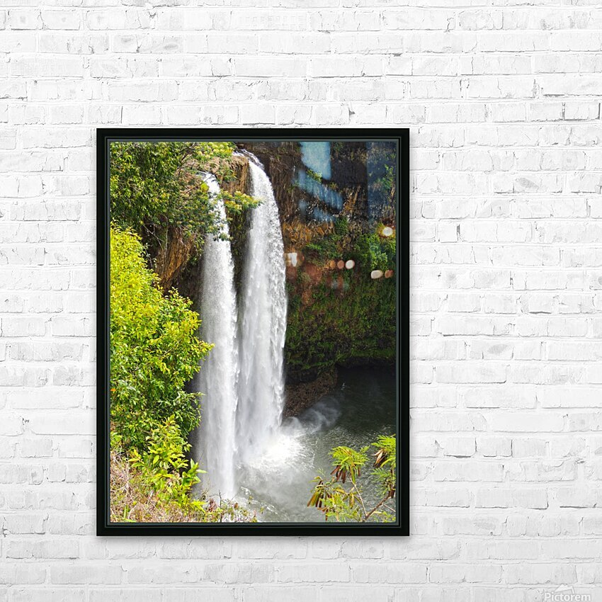Wild Kauai - 2016 Gallery Artwork of the Year - Portrait-Natural HD Sublimation Metal print with Decorating Float Frame (BOX)