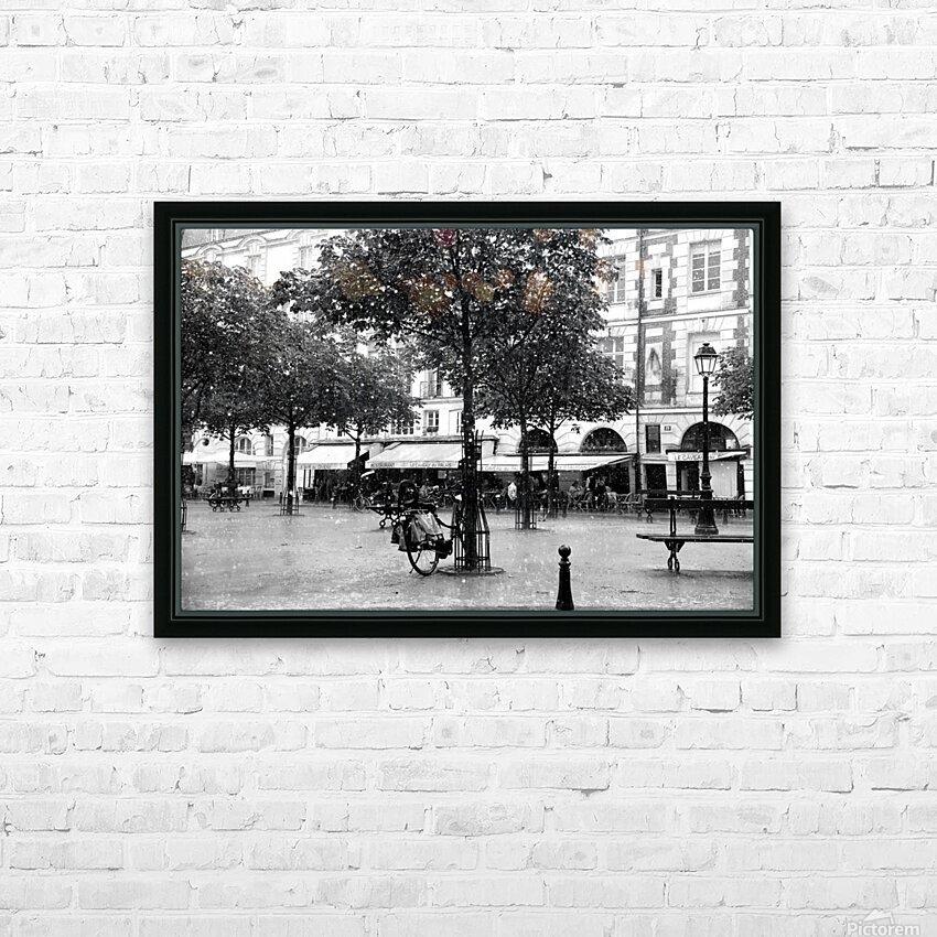 Place du Marche Sainte Catherine HD Sublimation Metal print with Decorating Float Frame (BOX)