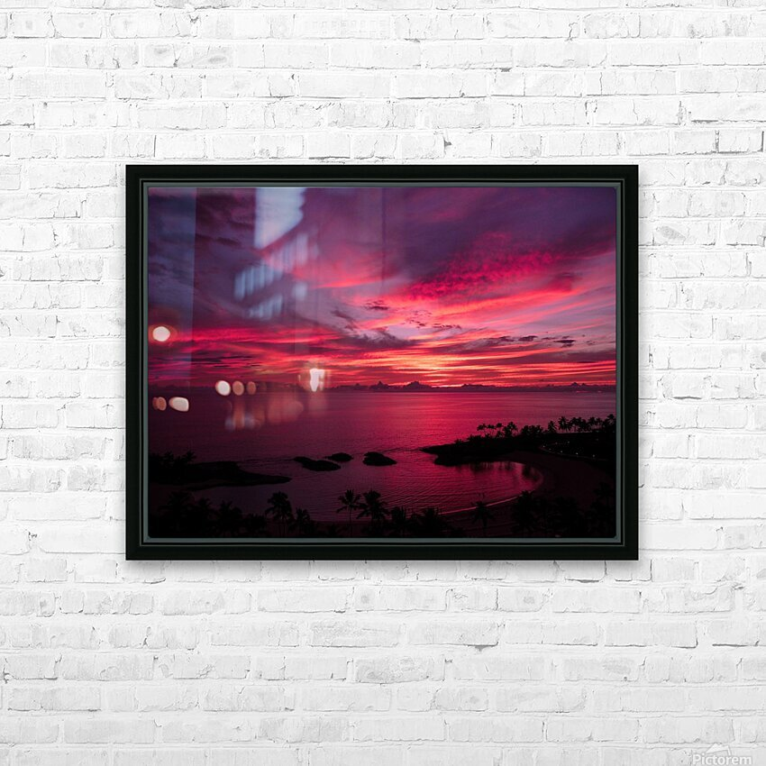 Bliss HD Sublimation Metal print with Decorating Float Frame (BOX)