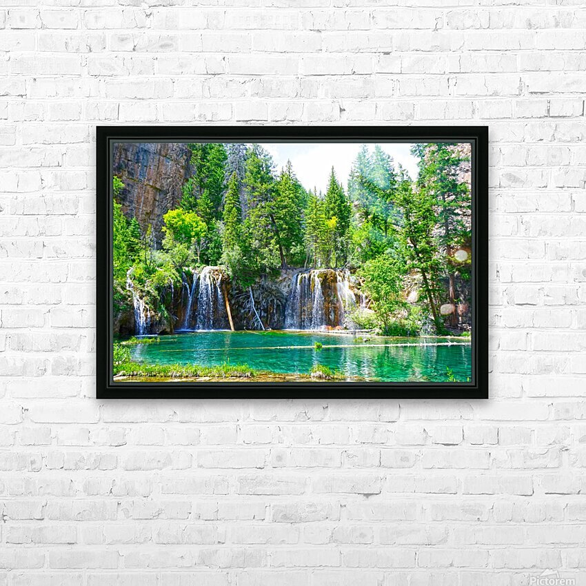 Wild Colorado HD Sublimation Metal print with Decorating Float Frame (BOX)