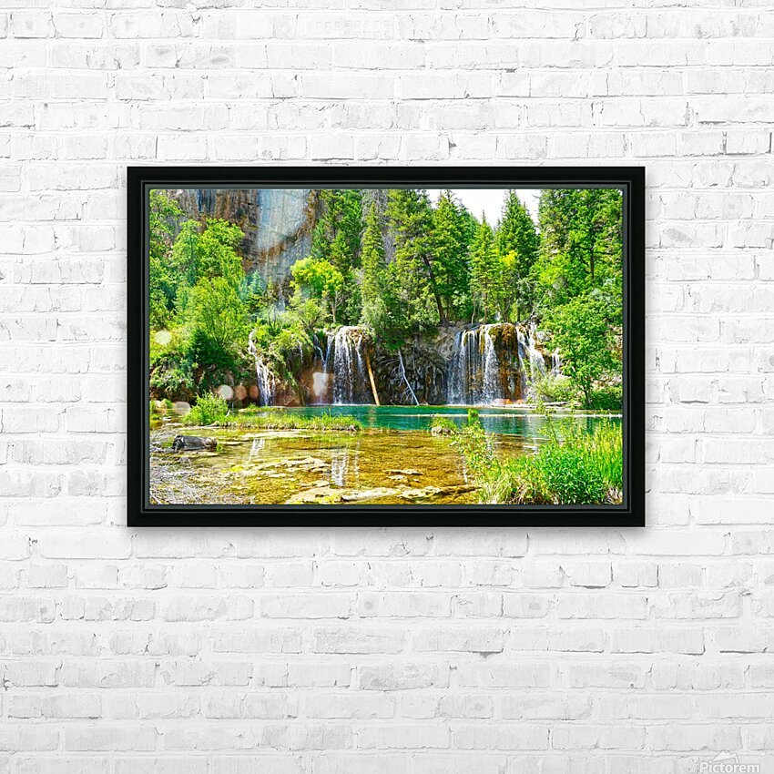 Beautiful Colorado HD Sublimation Metal print with Decorating Float Frame (BOX)