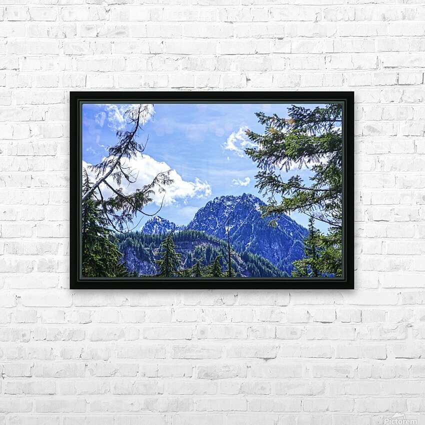 The Cascades HD Sublimation Metal print with Decorating Float Frame (BOX)