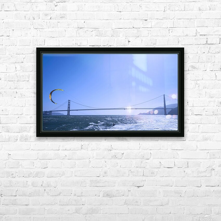 Wind Surf the Bay @ San Francisco HD Sublimation Metal print with Decorating Float Frame (BOX)