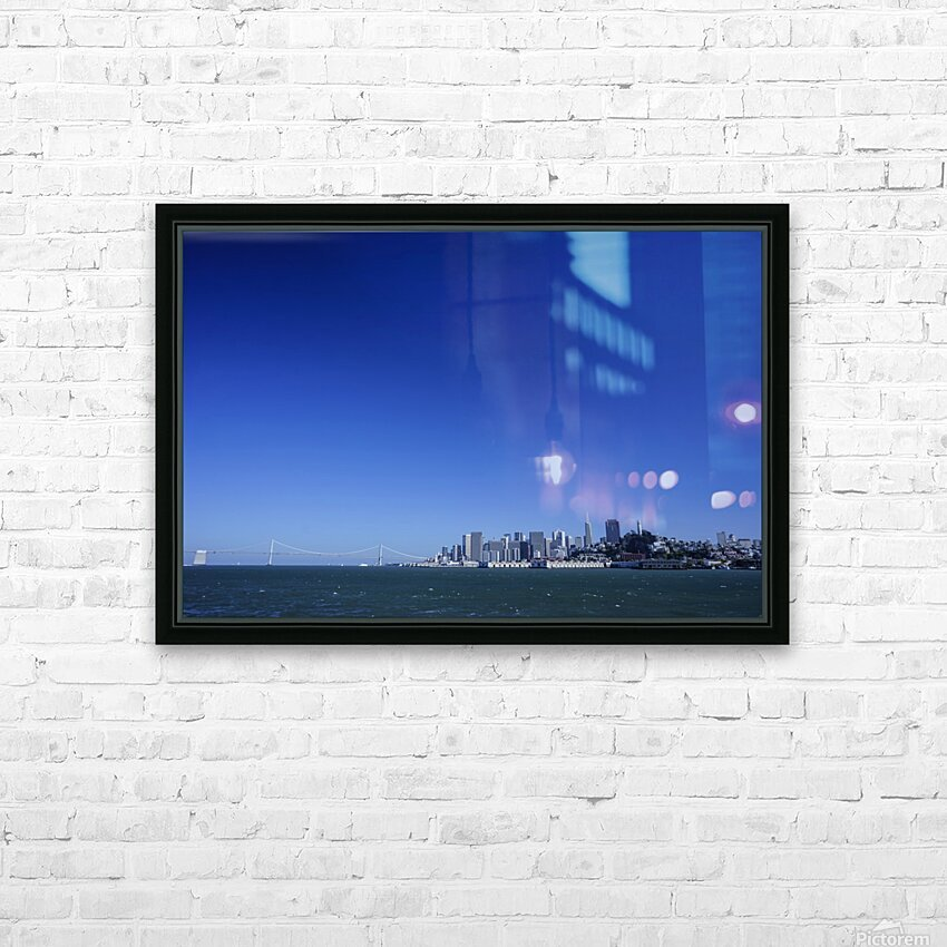 The Bay @ San Francisco HD Sublimation Metal print with Decorating Float Frame (BOX)