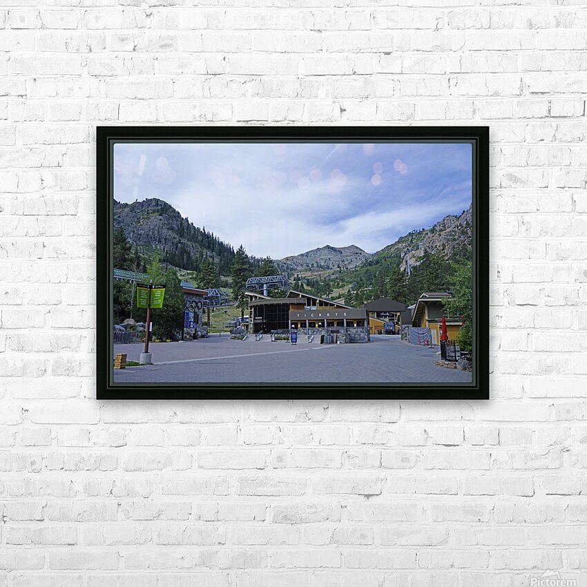 Spring at Lake Tahoe 3 of 7 HD Sublimation Metal print with Decorating Float Frame (BOX)