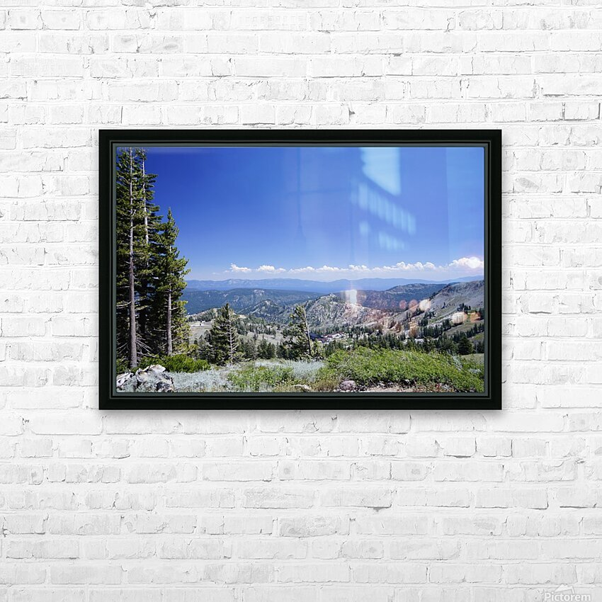 Sierra Nevada in Spring 2 of 8 HD Sublimation Metal print with Decorating Float Frame (BOX)