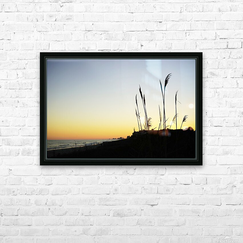 Atlantic Sunset @ Myrtle Beach HD Sublimation Metal print with Decorating Float Frame (BOX)