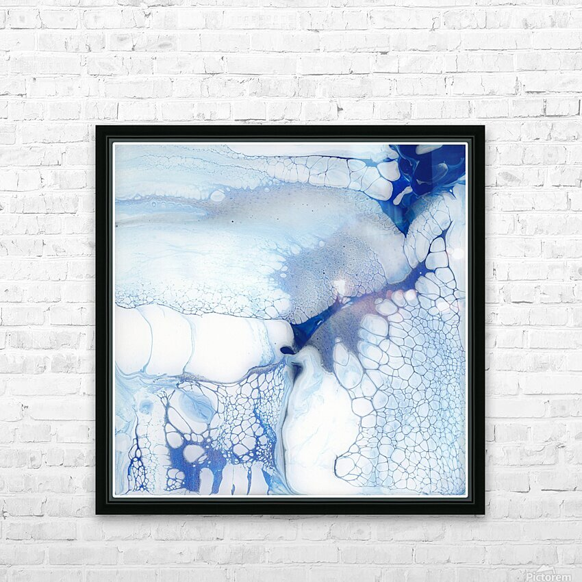 The Undoing HD Sublimation Metal print with Decorating Float Frame (BOX)