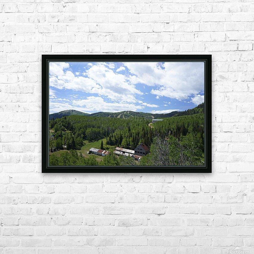 Back Country Utah 1 of 6 HD Sublimation Metal print with Decorating Float Frame (BOX)