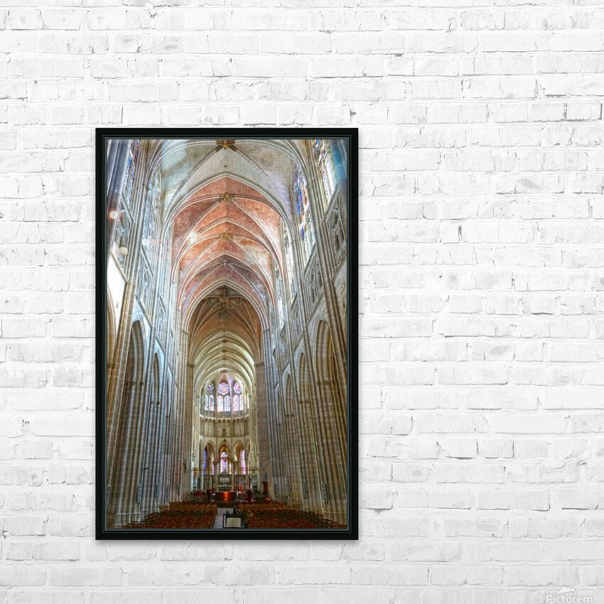 Immortal Cathedrale Saint Etienne 2 of 6 HD Sublimation Metal print with Decorating Float Frame (BOX)