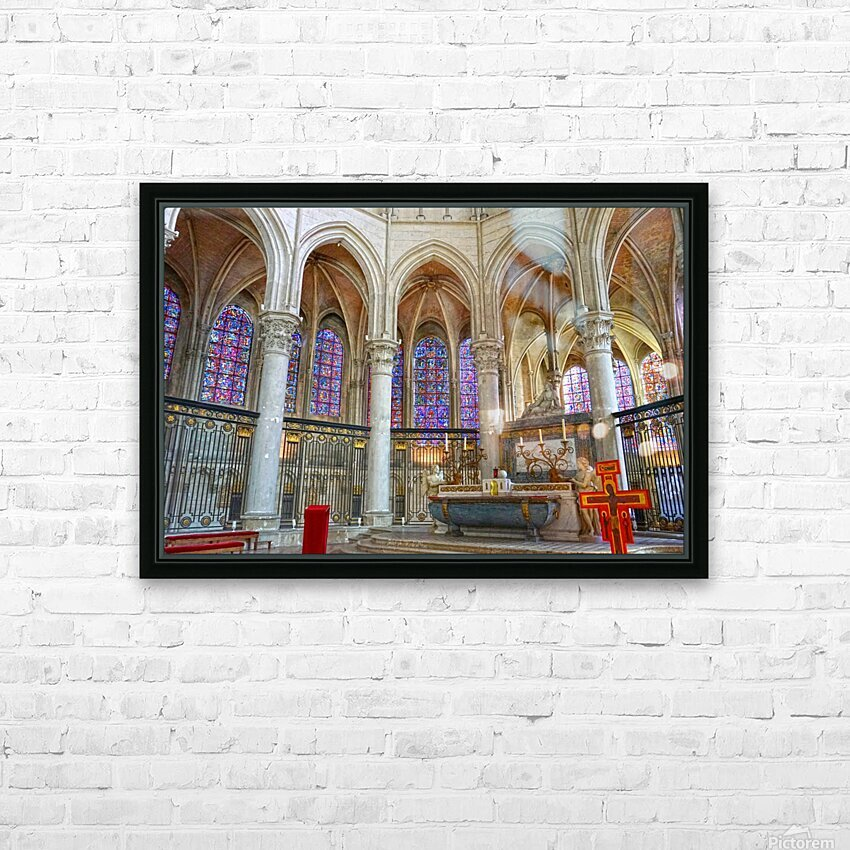 Immortal Cathedrale Saint Etienne 5 of 6 HD Sublimation Metal print with Decorating Float Frame (BOX)