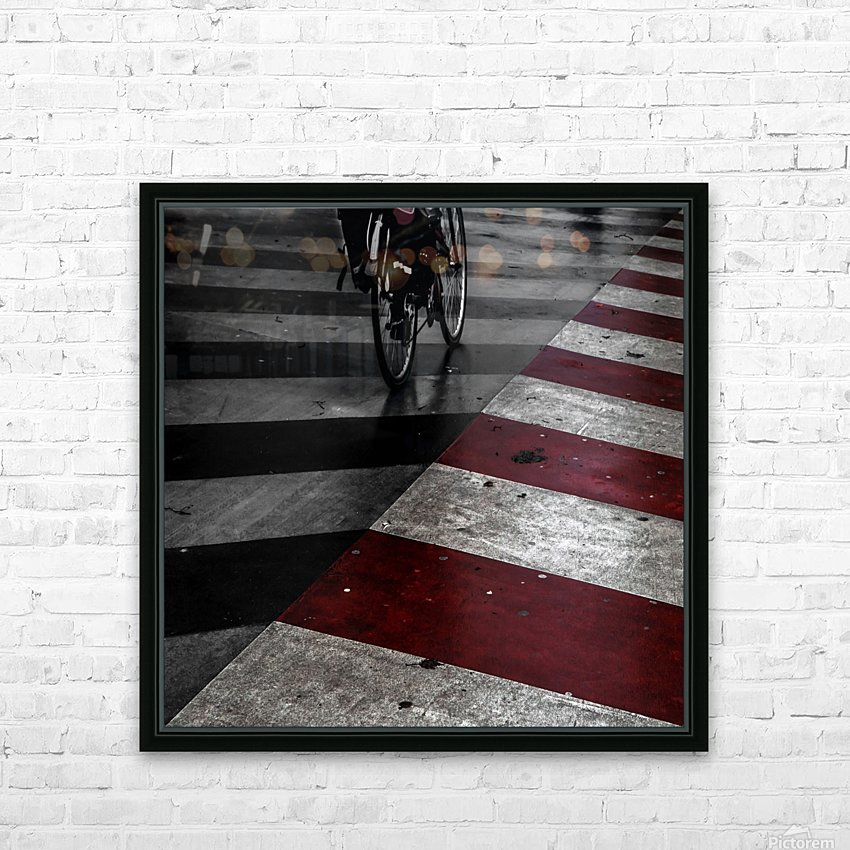 DirtY ReD by Gilbert Claes  HD Sublimation Metal print with Decorating Float Frame (BOX)