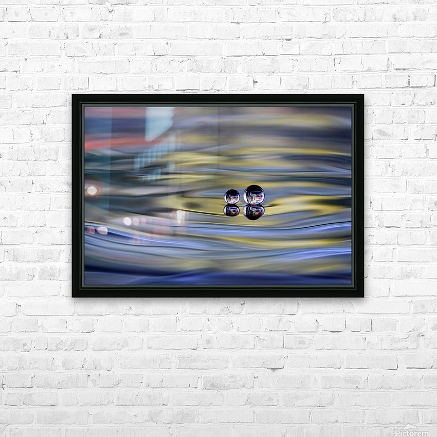 oO HD Sublimation Metal print with Decorating Float Frame (BOX)