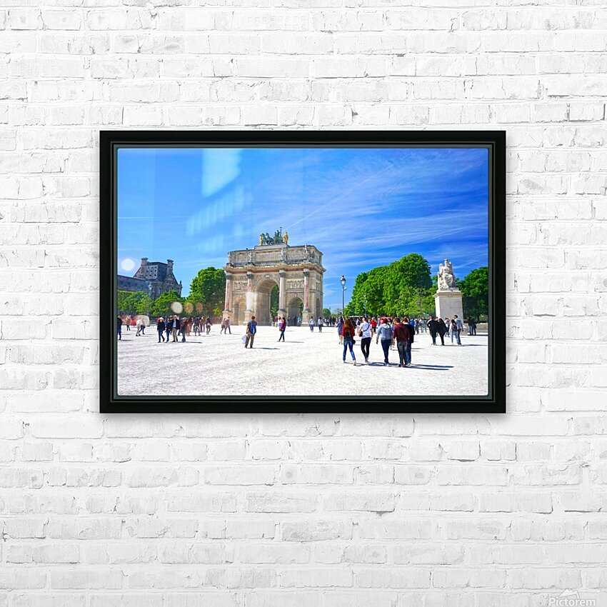 Immortal Paris 6 of 7 HD Sublimation Metal print with Decorating Float Frame (BOX)