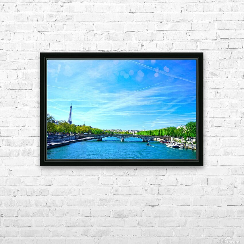 Immortal Paris 5 of 7 HD Sublimation Metal print with Decorating Float Frame (BOX)