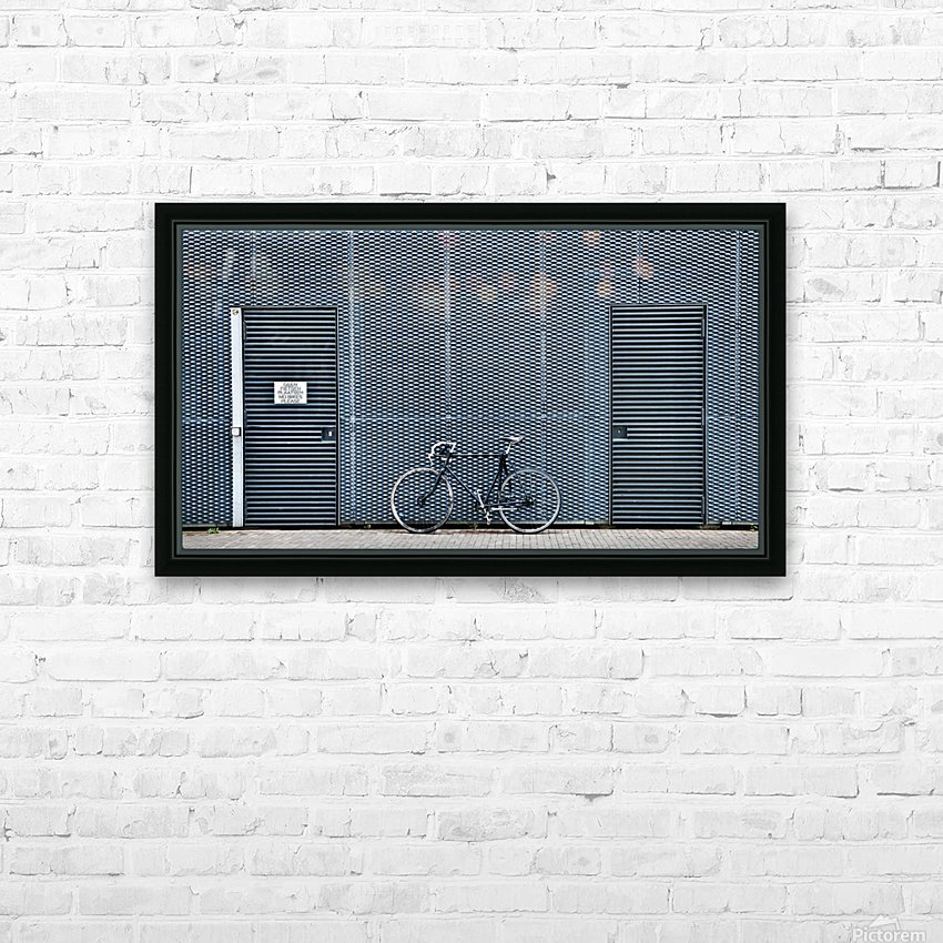 no bikes please HD Sublimation Metal print with Decorating Float Frame (BOX)