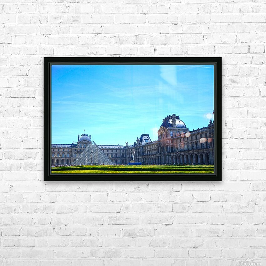 Paris Snapshot in Time 1 of 8 HD Sublimation Metal print with Decorating Float Frame (BOX)
