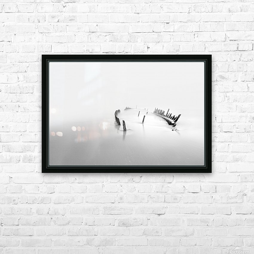 Into the mist HD Sublimation Metal print with Decorating Float Frame (BOX)
