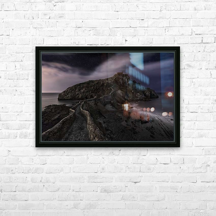One Night in Gaztelugatxe by Fran Osuna  HD Sublimation Metal print with Decorating Float Frame (BOX)