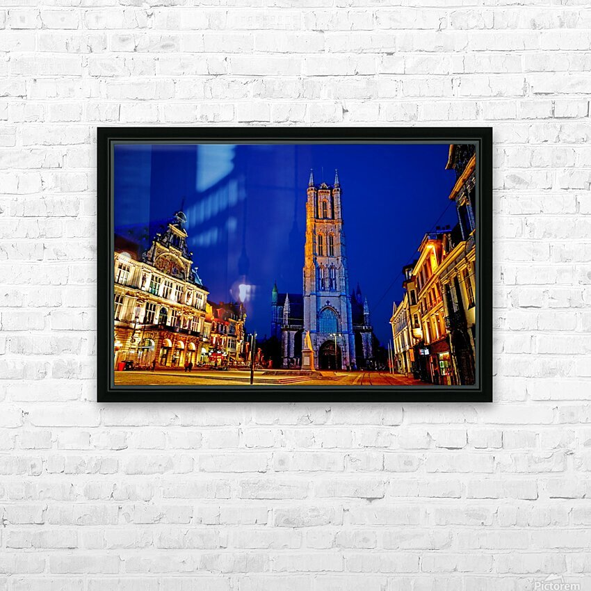 Beautiful Belgium 2 of 7 HD Sublimation Metal print with Decorating Float Frame (BOX)