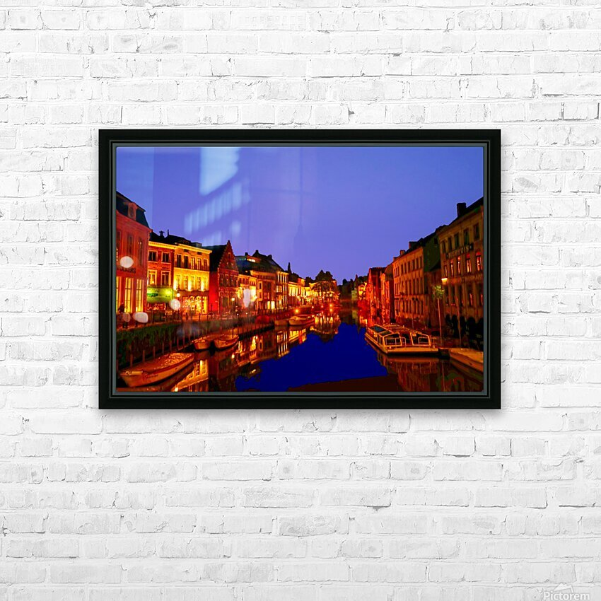 Beautiful Belgium 6 of 7 HD Sublimation Metal print with Decorating Float Frame (BOX)