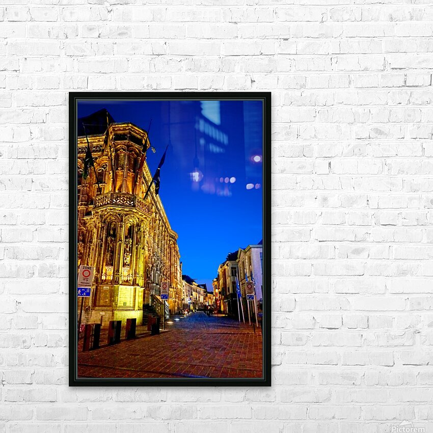 Beautiful Belgium 3 of 7 HD Sublimation Metal print with Decorating Float Frame (BOX)