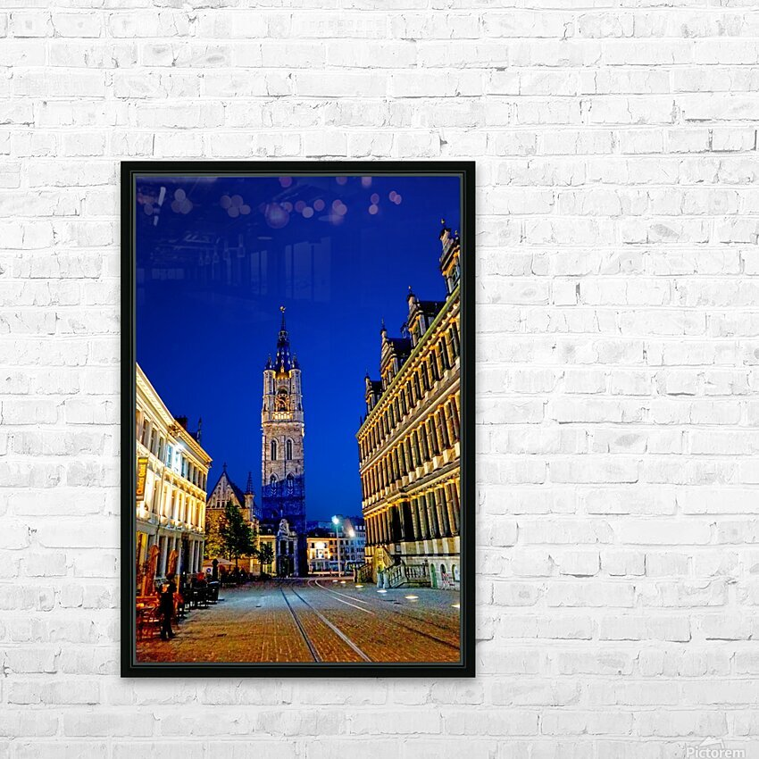 Beautiful Belgium 4 of 7 HD Sublimation Metal print with Decorating Float Frame (BOX)