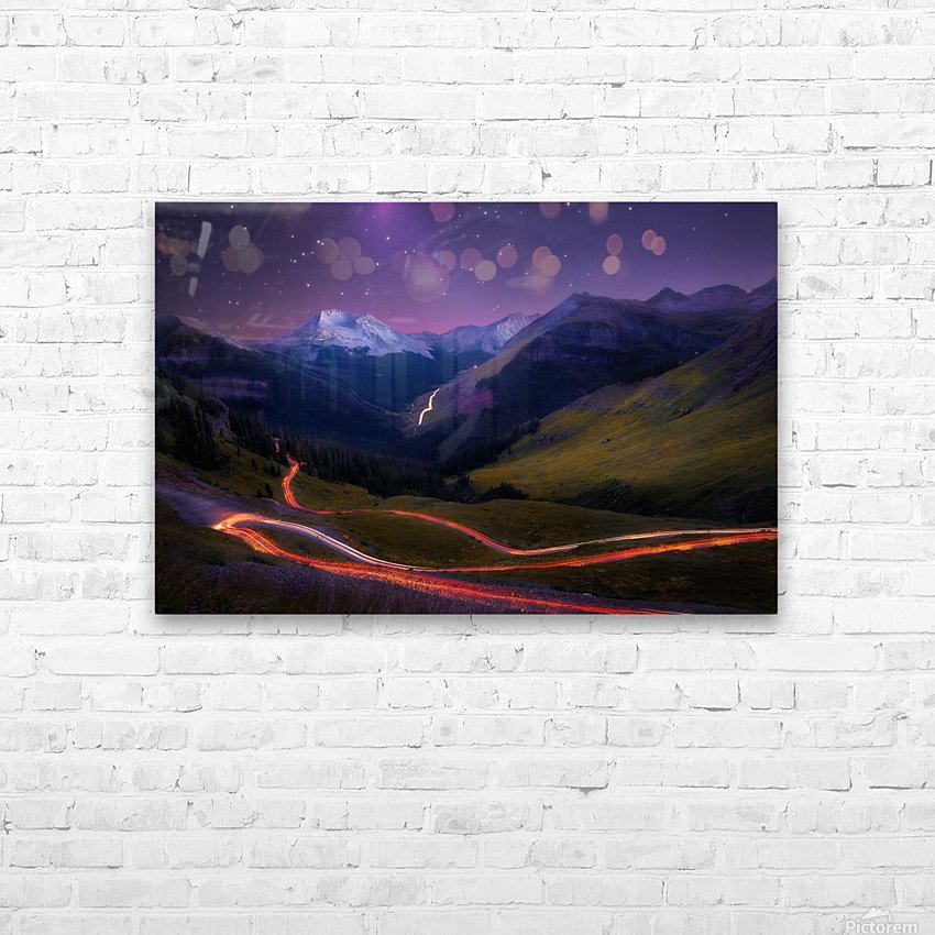 Ascendancy HD Sublimation Metal print with Decorating Float Frame (BOX)