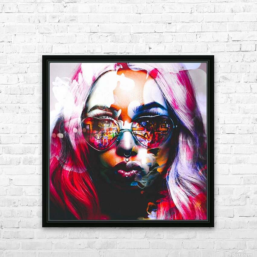 PICAZO  HD Sublimation Metal print with Decorating Float Frame (BOX)