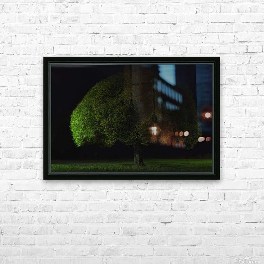 Mushroom tree by Stelios Kirtselis  HD Sublimation Metal print with Decorating Float Frame (BOX)