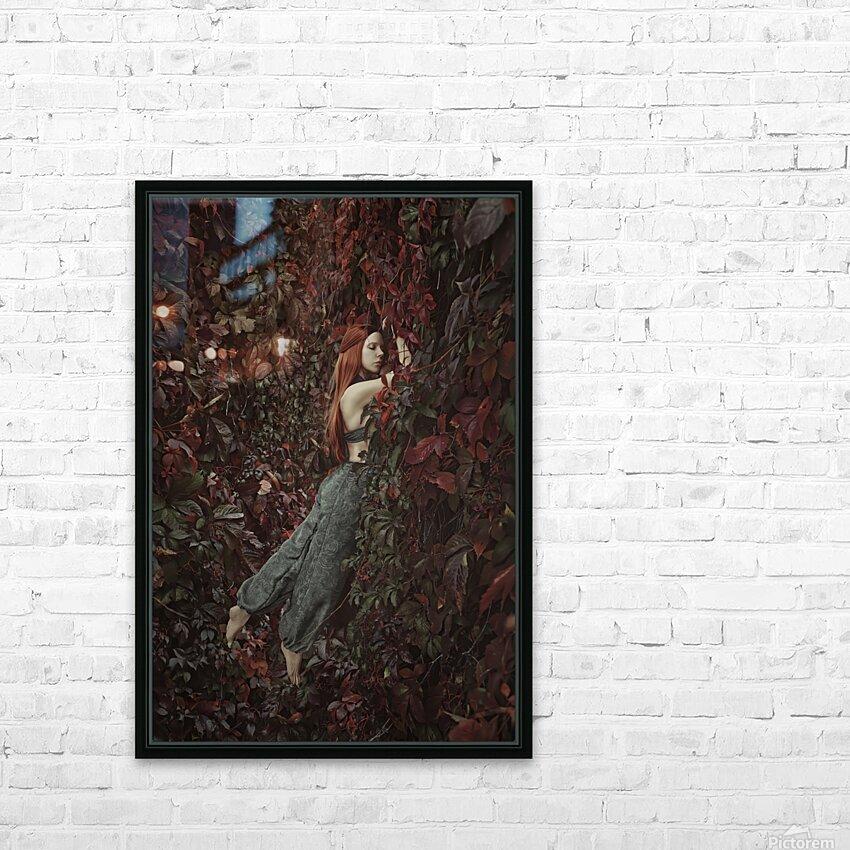 Secret Garden HD Sublimation Metal print with Decorating Float Frame (BOX)